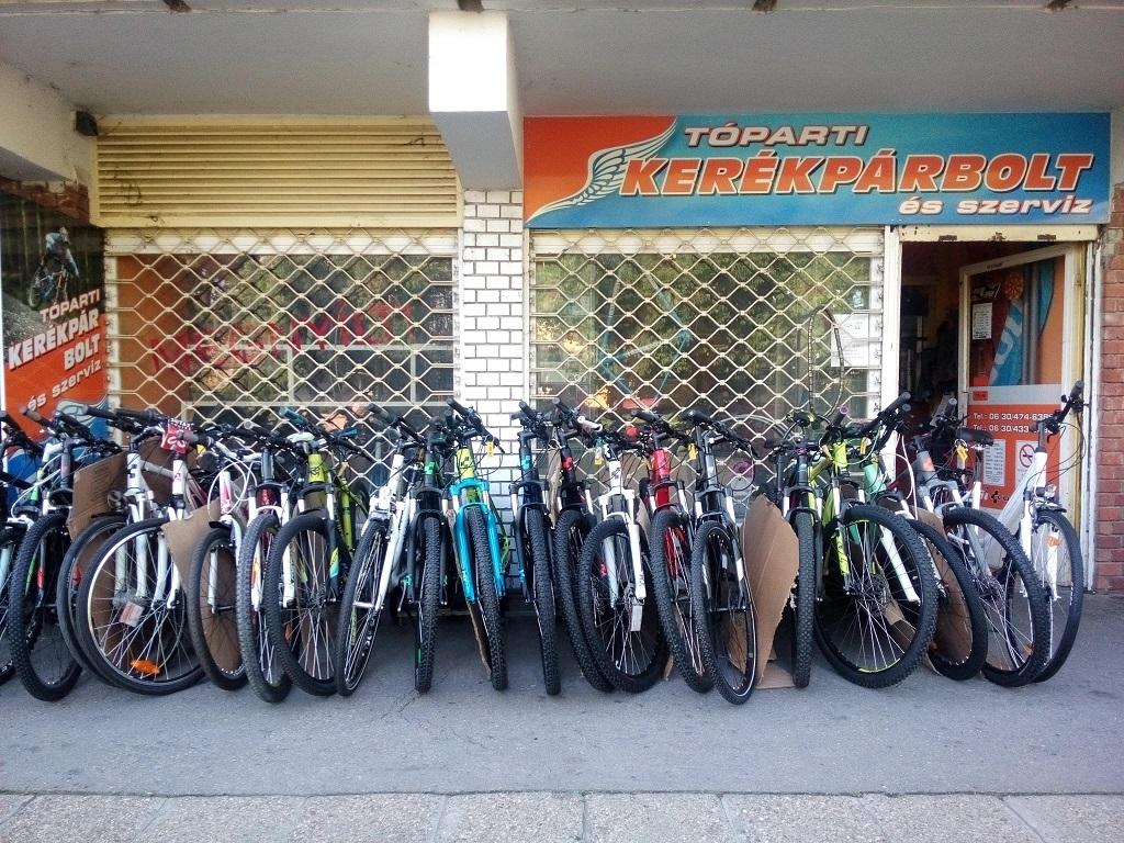 Tóparti Kerékpárbolt és Szerviz Forrás: Bike Logistics Kft.