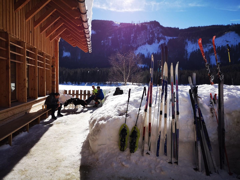 A Kohlröserlhütte a sífutók kedvelt helye Forrás: www.mozgasvilag.hu