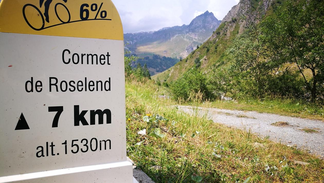 Végül ez a hágó is kikerült a Tour de France programjából, miután a várható viharok miatt törölték a szakaszból Forrás: Mozgásvilág/Pintér László