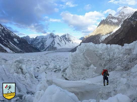 Johnnie-Walker-K2-2016-gleccser_Klein-David.jpg Forrás: Johnnie Walker K2 Expedíció