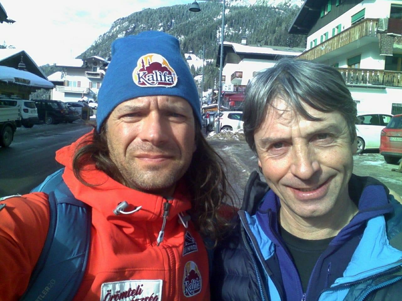Klein Dávid és Mario Vielmo Forrás: Klein Dávid Facebook