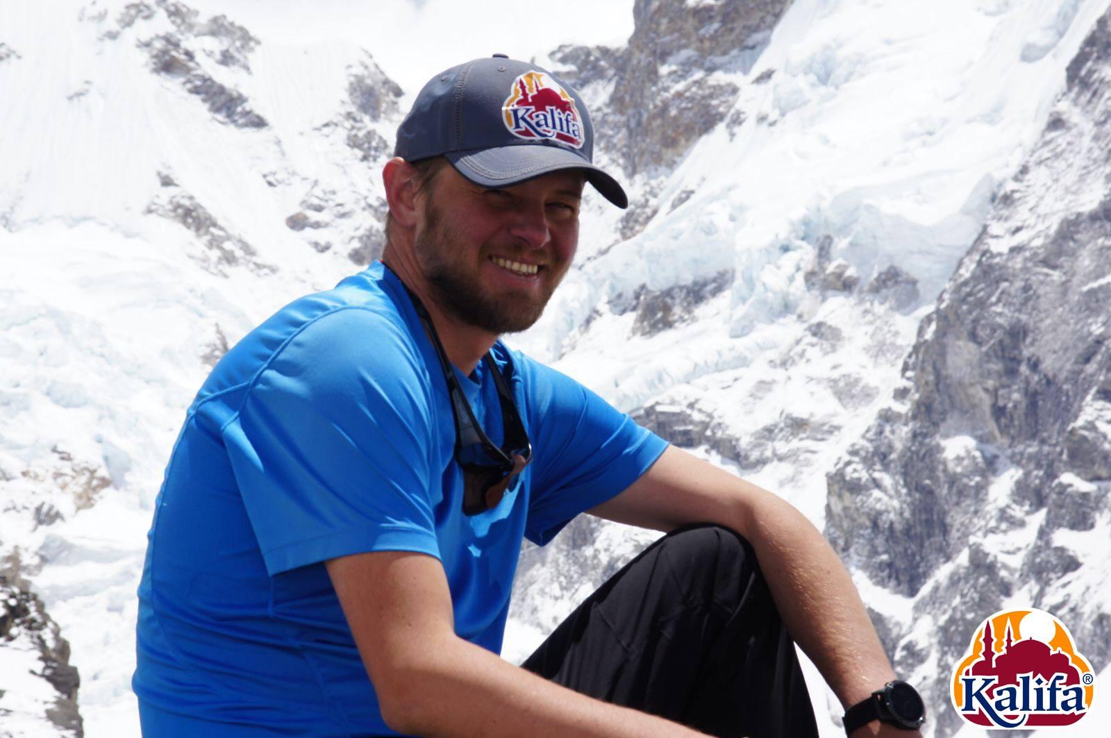 Varga Csaba a Kancsendzöngán Forrás: Kalifa Himalája Expedíció 2018 - Kancsendzönga