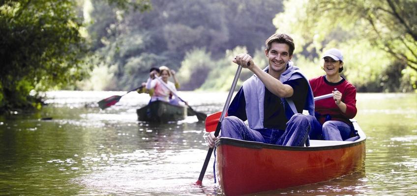 Kenu a Rábán Forrás: Burgenland Tourismus