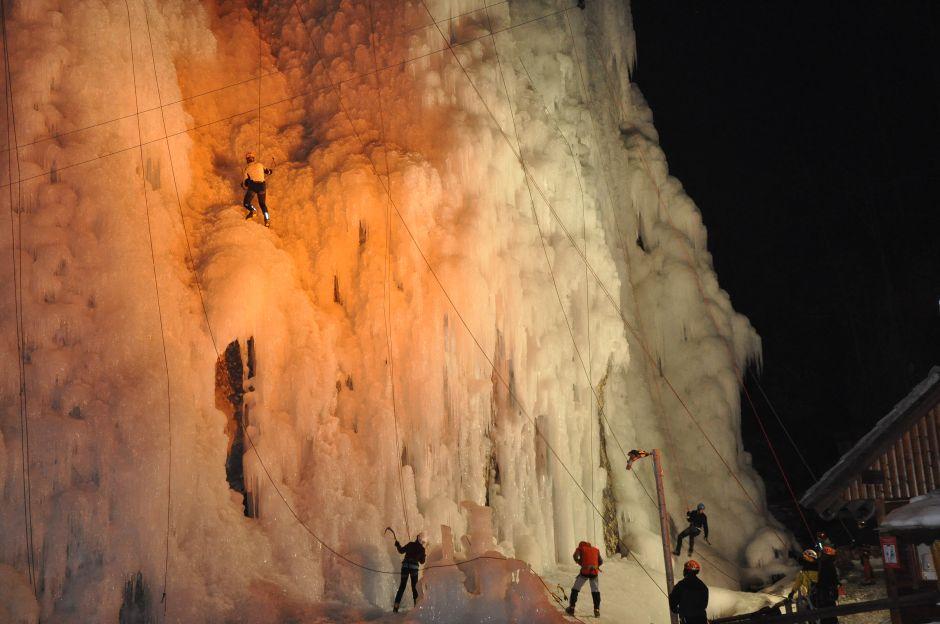 Jégfalmászás Kranjska Gorán Forrás: www.kranjska-gora.si