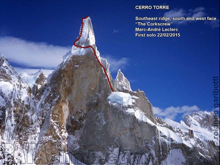 A Corkscrew-út a Cerro Torrén Forrás: Patagonia Vertical/Rolando Garibotti