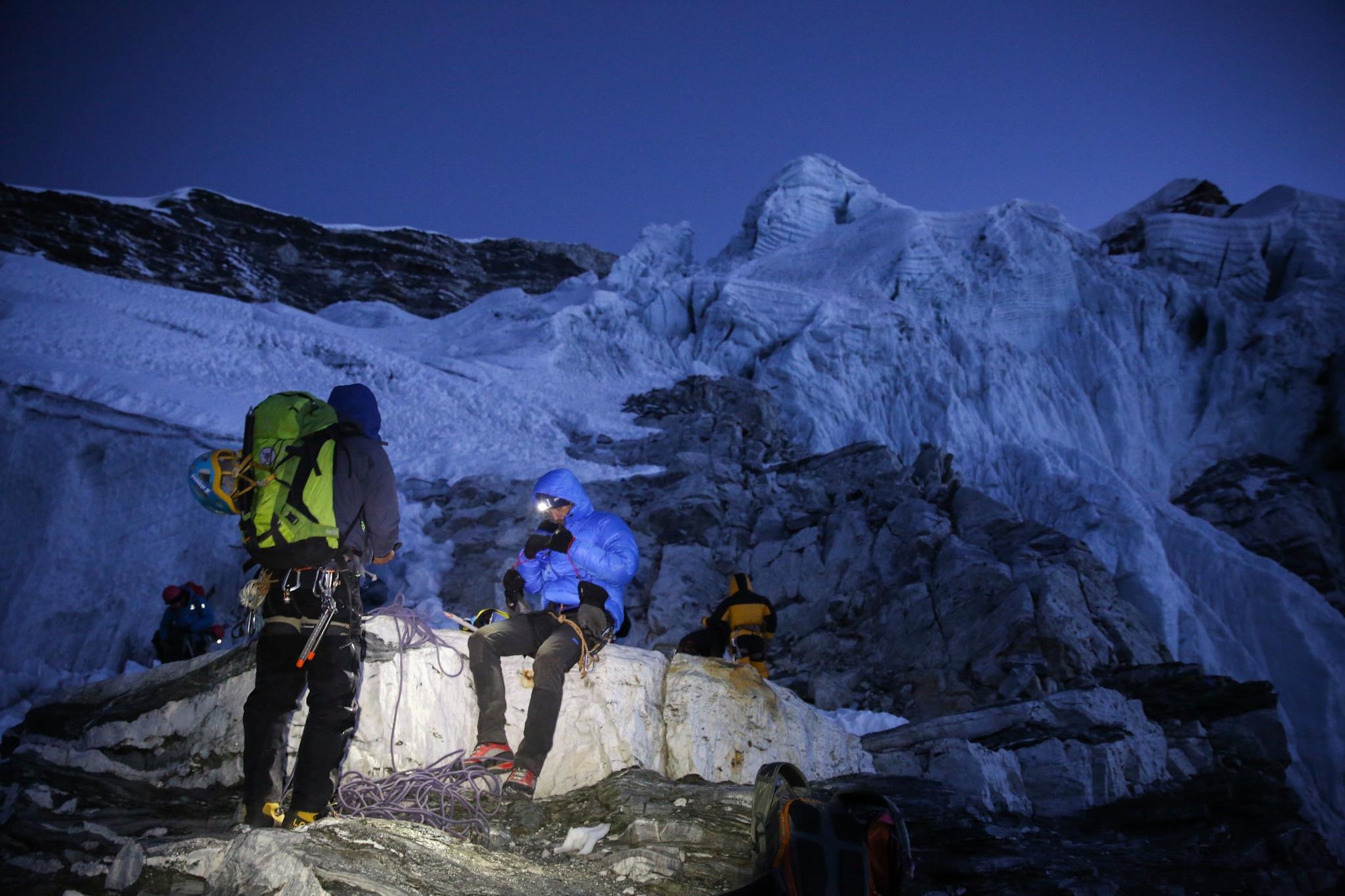 Crampon Point - itt kerül elő a gleccserfelszerelés Forrás: MEE/Mohai Balázs