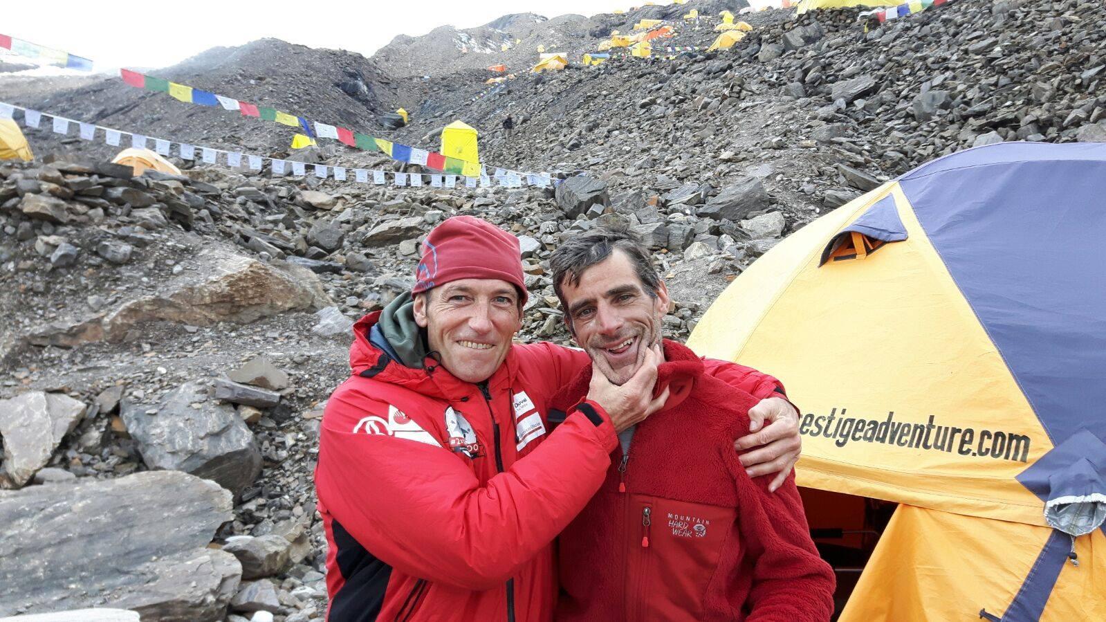 Alberto Zerain és Mariano Galvan tavaly a Manaszlun Forrás: 2x14x8000 Facebook