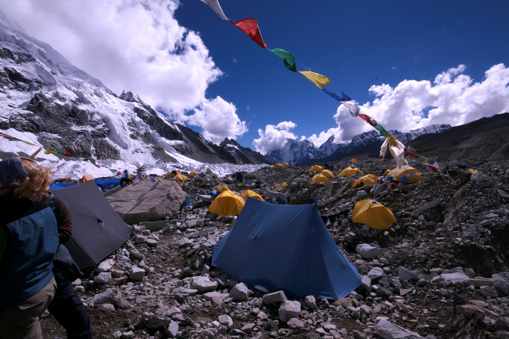 Mount Everest Base Camp Forrás: (c)n Photo Emifaulk Flickr