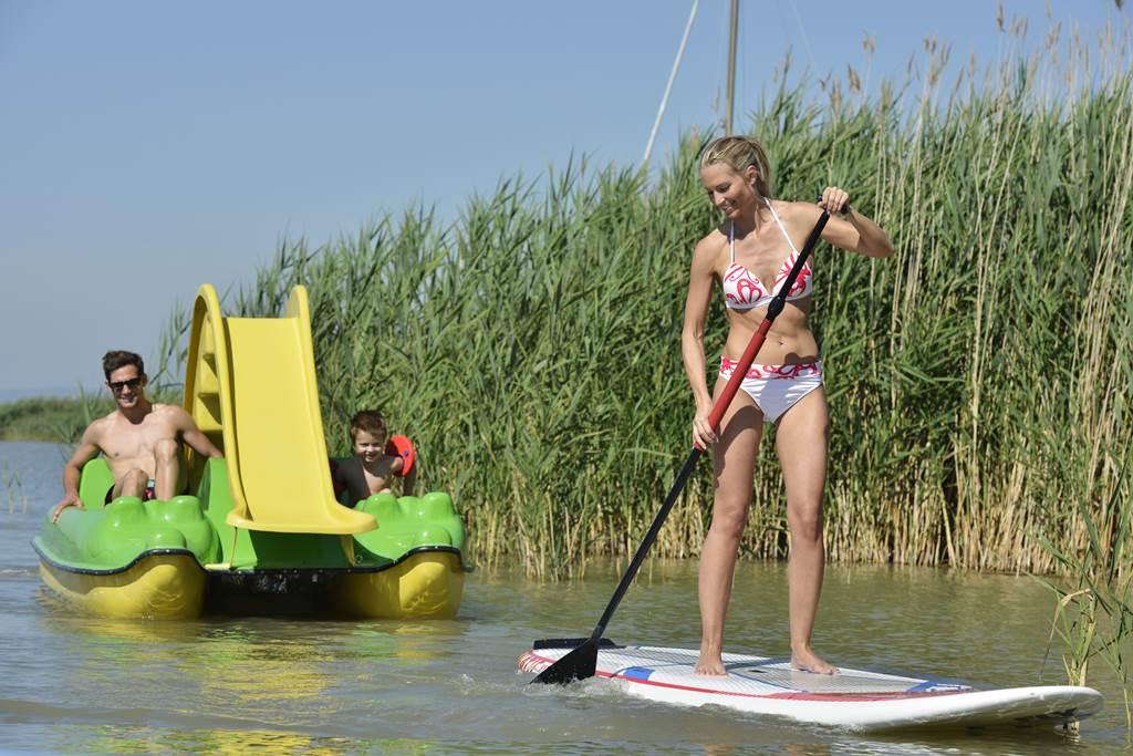 Vízibiciklizés és SUP a Fertő tavon Forrás: (c) NTG/steve.haider.com