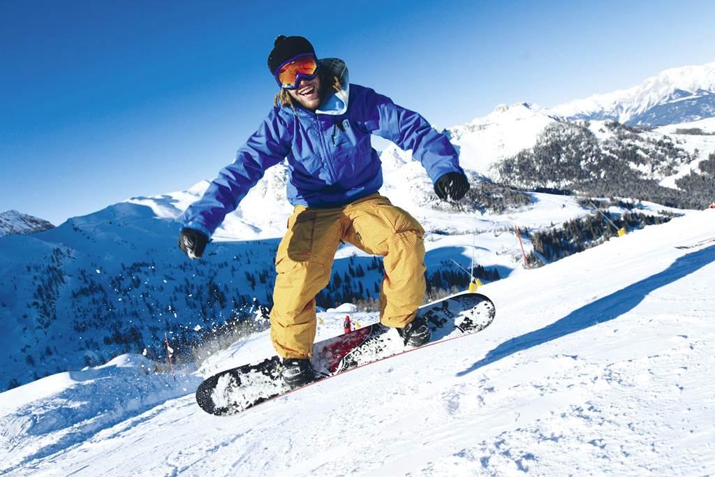 Csúcs ez a snowboard élmény! Forrás: www.nassfeld.at