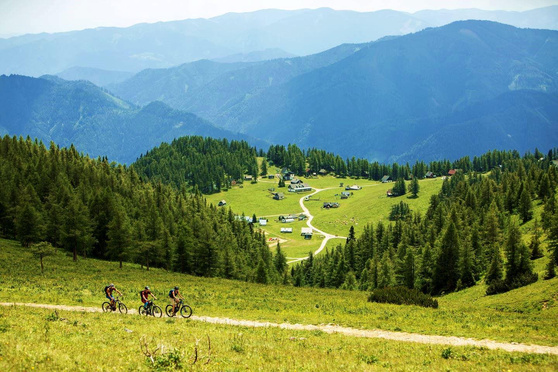 Kerékpáros élmények a Bürgeralmon Forrás: (c) Klaus Morgenstern