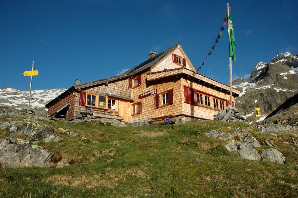A Nossberger Hütte Forrás: www.nossberger.at