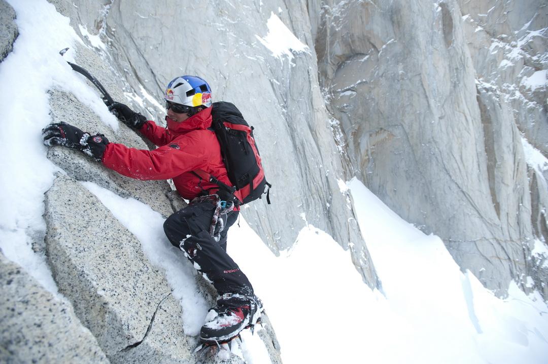 David Lama a Cerro Torrén Forrás: Red Bull Content Pool