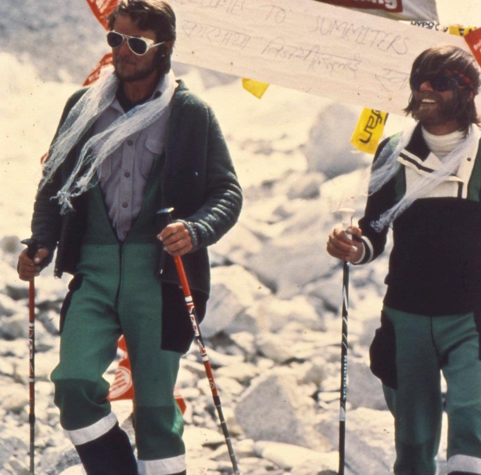 A dicsőséges ereszkedés az Everestről, 1978 Forrás: Peter Habeler archívum