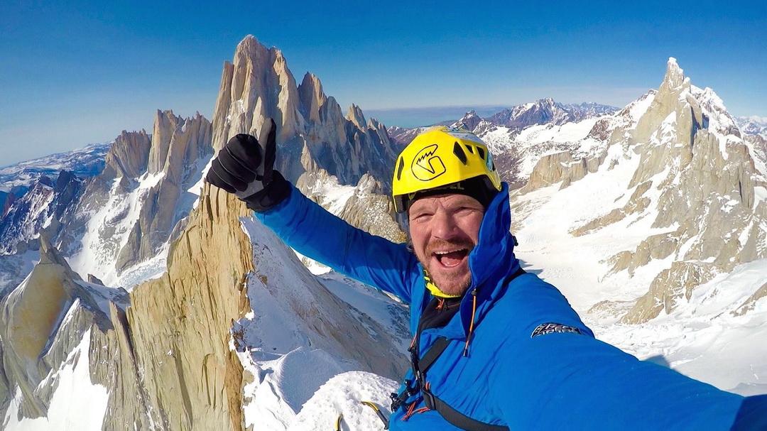 Markus Pucher a Cerro Pollone csúcsán Forrás: Markus Pucher Facebook