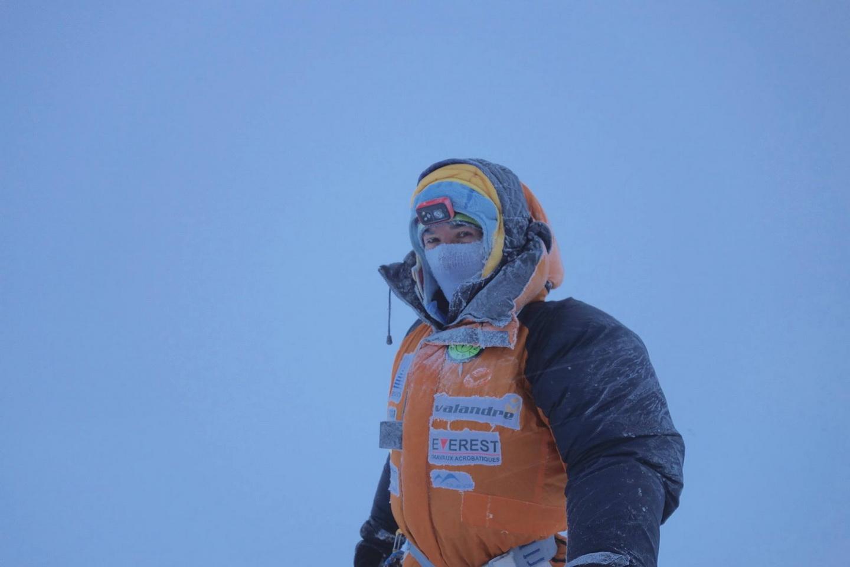 Elizabeth Revol az Everesten Forrás: Elizabeth Revol Facebook