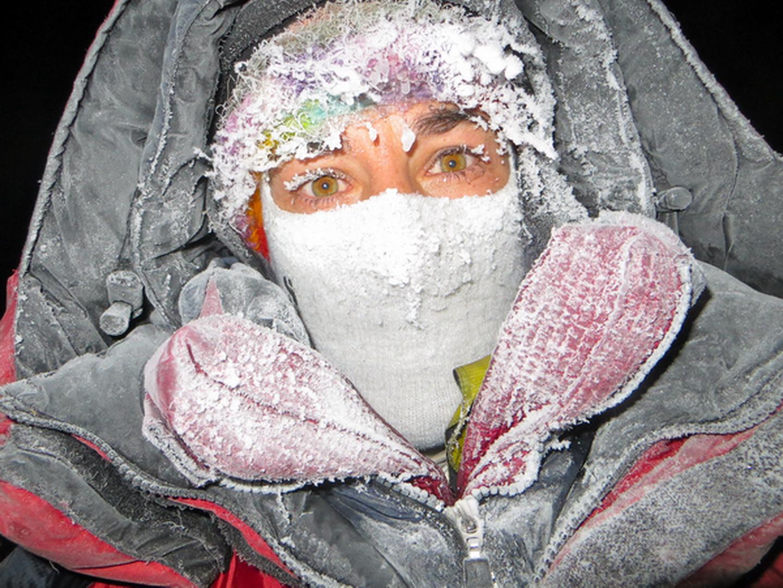 Portré a 2015-ös téli Nanga Parbat expedícióról Forrás: Elizabeth Revol archívum