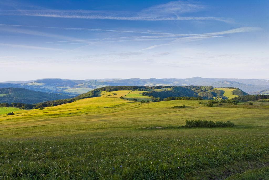 Rhön UNESCO-bioszféra-rezervátum Forrás: Rhön Marketing