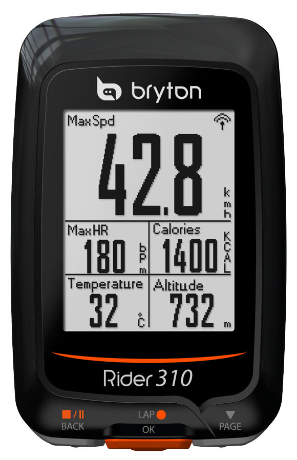 Bryton Rider 310 Forrás: Bikefun.hu