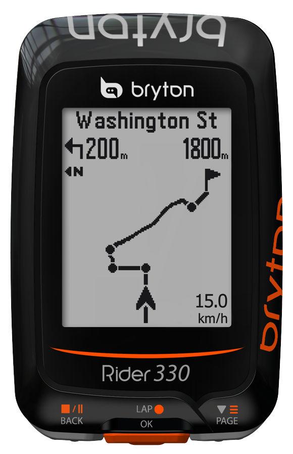 Bryton Rider 330 Forrás: Bikefun.hu
