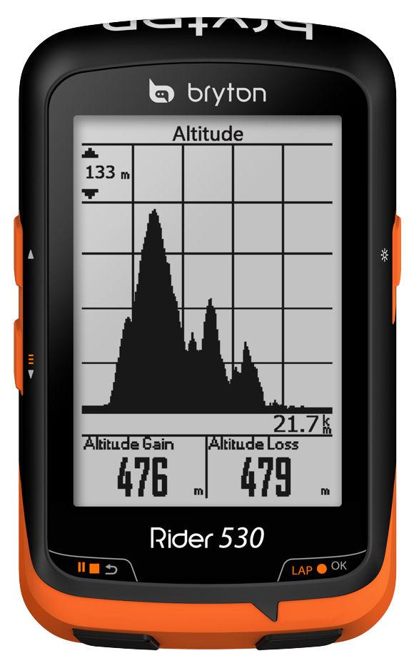 Bryton Rider 530 Forrás: Bikefun.hu