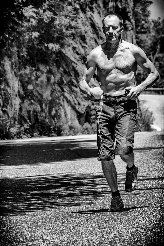 Denis futóedzésen Forrás: Maria Cardell archívum