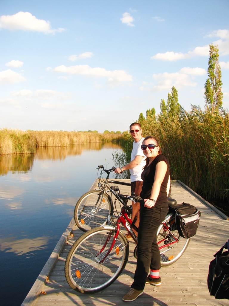 Kerékpárral a Fertő-tónál Forrás: ® S íros Viktor e.v.