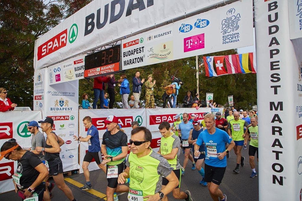 SPAR Budapest Maraton® Fesztivál Forrás: spar.hu