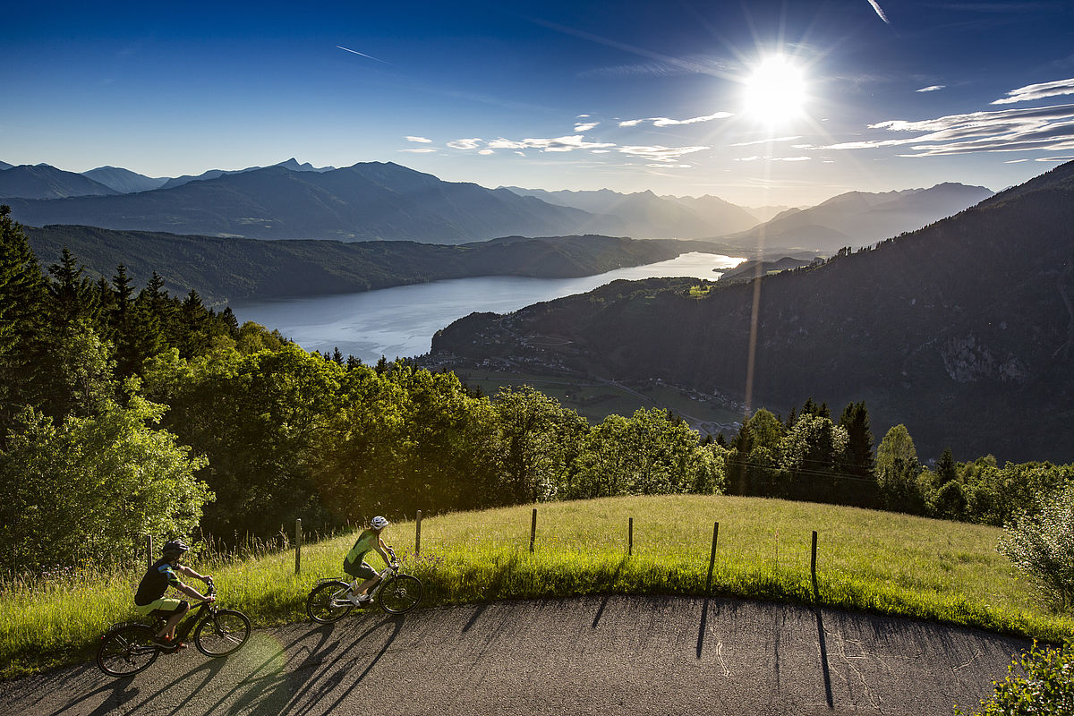 Nagy karintiai tókerülő túra második szakasz: Millstatti-tó Forrás: (c) Archiv_MTG_Joerg Reuther
