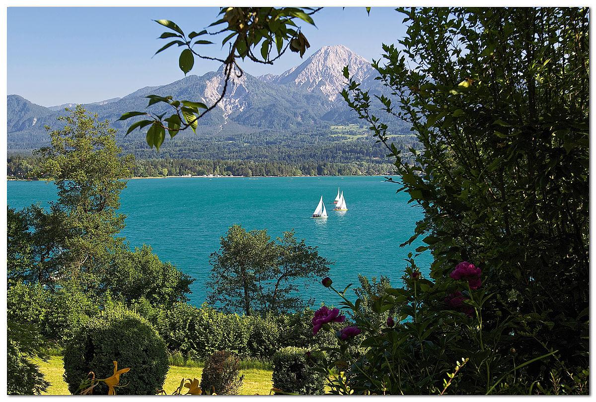 Nagy karintiai tókerülő túra negyedik szakasz: Faaki-tó Forrás: (c) Kaernten Werbung_Steinthaler