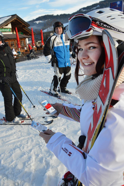Síbérlet vásárlás mobilon! Forrás: Ski-amadé-MobileTicketing-03