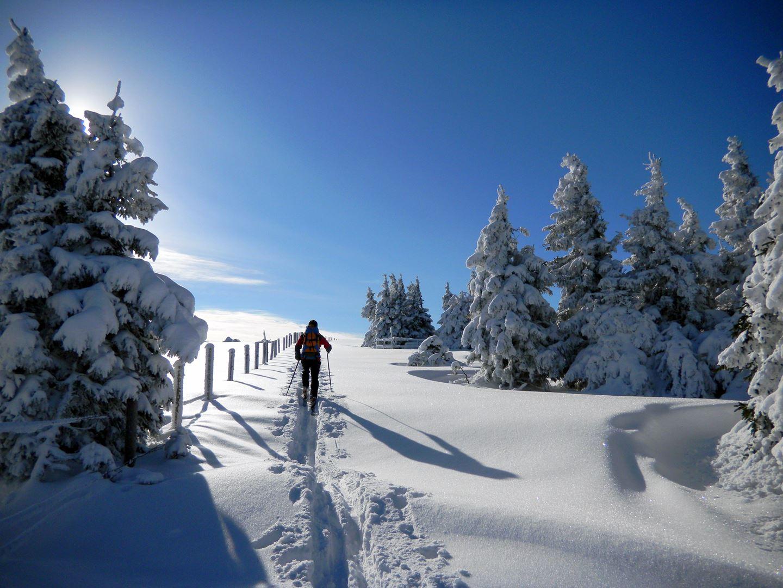 Sítúra a Fischbachi Alpokban Forrás: (c) Andreas Steininger