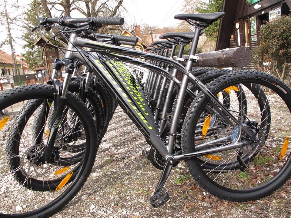 Specialized tesztbringák Forrás: Szilvásváradi kerékpárkölcsönző