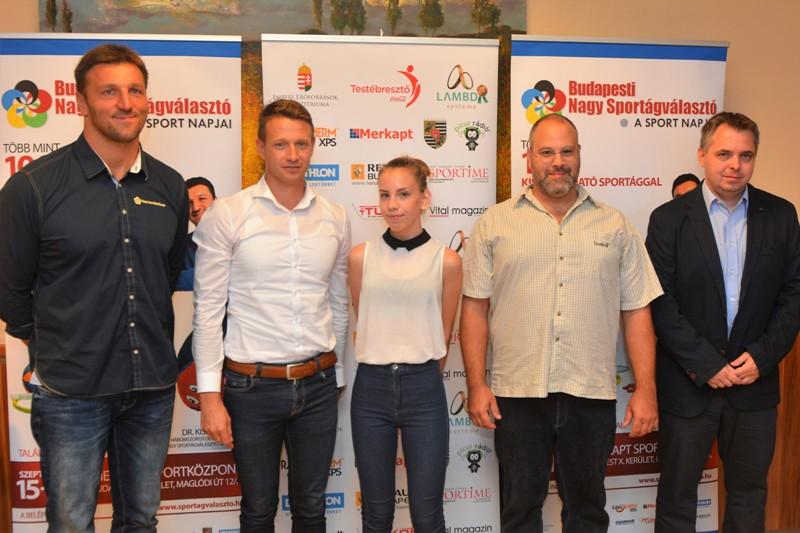 XXI. Budapesti Nagy Sportágválasztó Forrás: Ötpróba Rióba