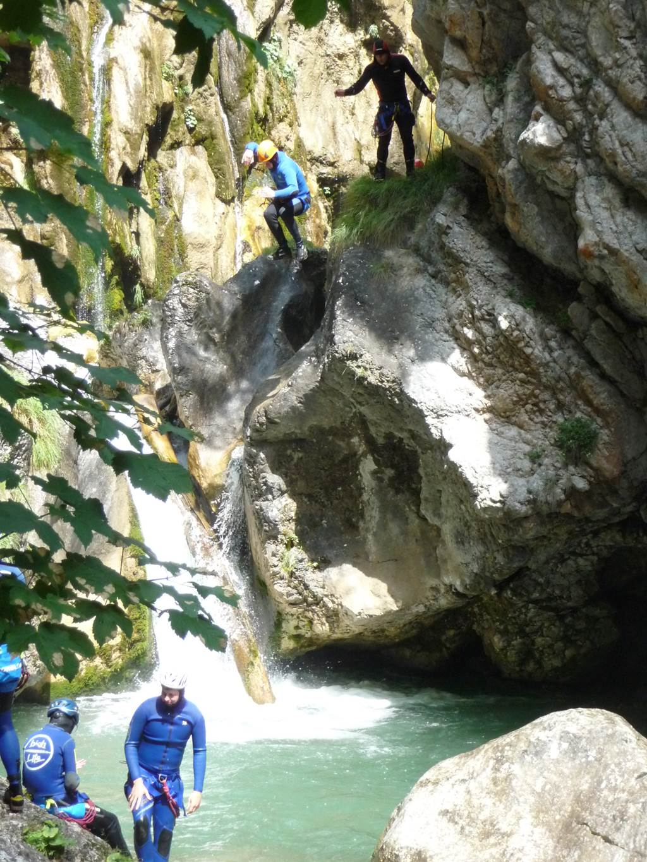 Kanyoning a Tscheppaschlucht szurdokban Forrás: (c) Camping Anderwald
