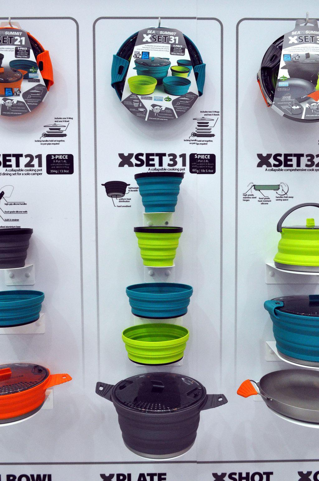 Szilikon edények, melyeket a gázfőzőn is használhatsz – Sea to Summit Forrás: Paraferee - Mozgásvilág.hu