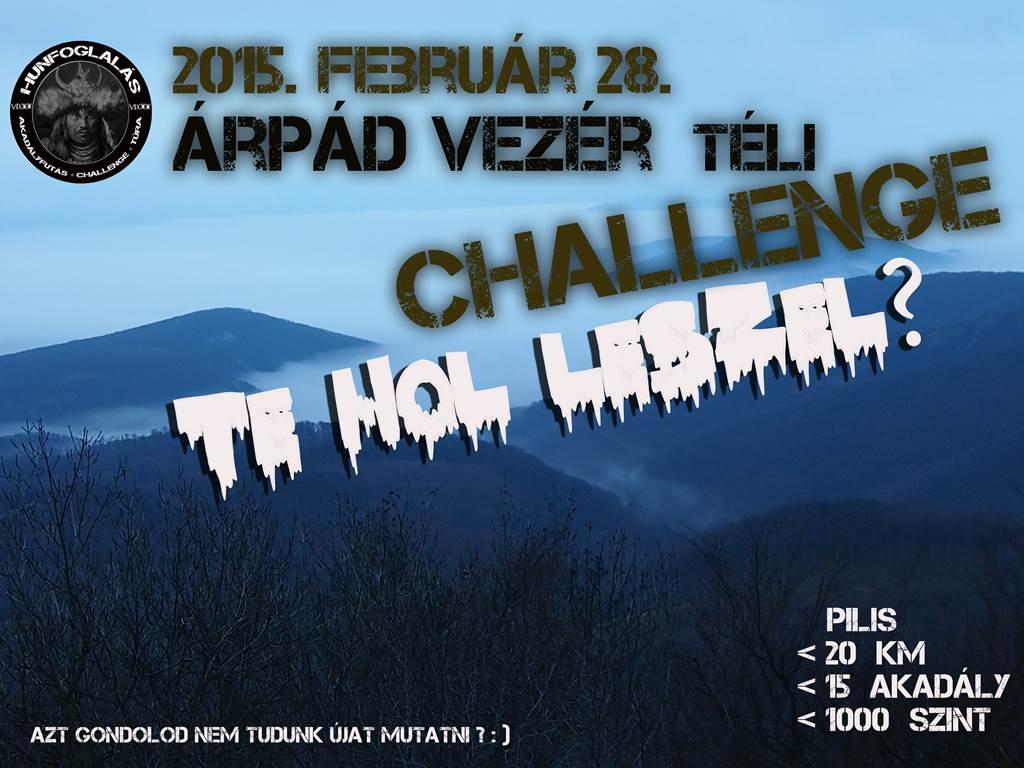 Téli challenge Forrás: Hunfoglalás