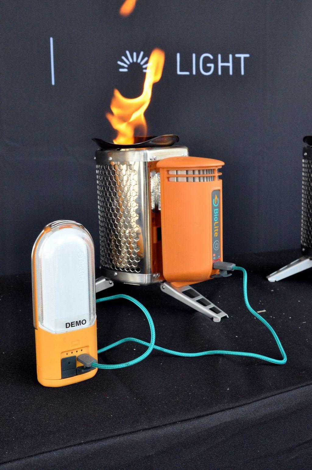 Tűzből nyeri ki az elektromosságot – BioLite Forrás: Paraferee - Mozgásvilág.hu