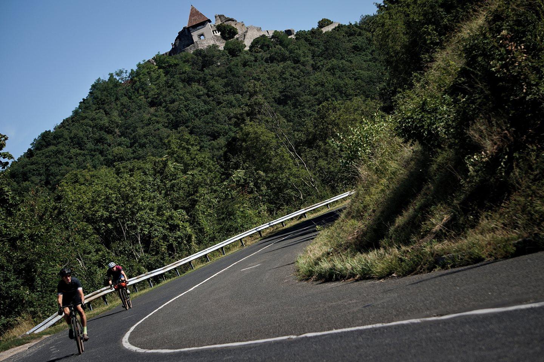 Úton az 5 Peaks 500 útvonalán Forrás: (c) Domaniczky Tivadar 5Peaks500