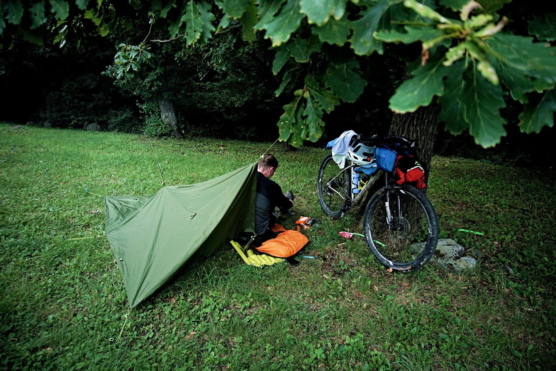 Szállás az erdőben a szabad ég alatt Forrás: (c) Domaniczky Tivadar 5Peaks500