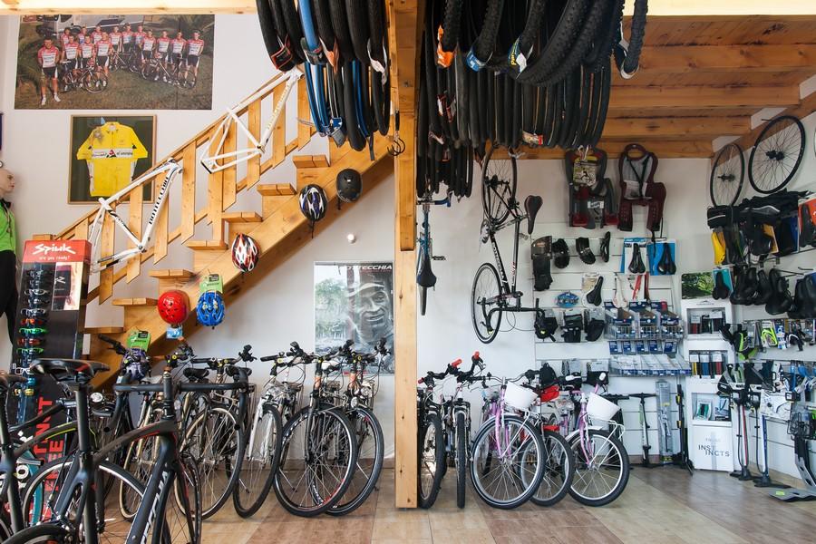 Tutto Bici Kerékpárüzlet Forrás: Tutto Bici