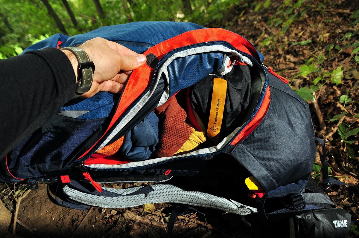 Könnyen elérhető a táska aljába pakolt cucc is Forrás: Mozgasvilag.hu