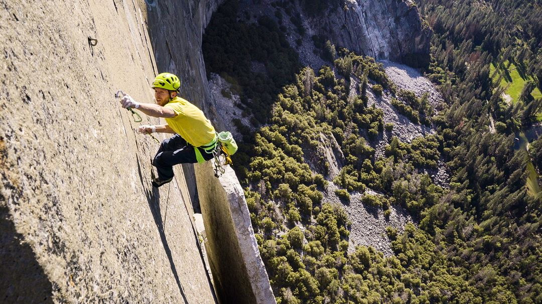 Tommy Caldwell a Nose-on Forrás: Tommy Caldwell Facebook