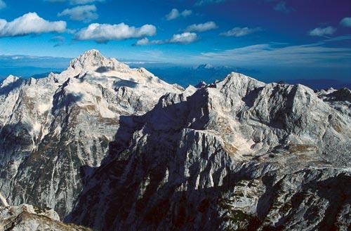 Triglav és Kanjavec csúcsok