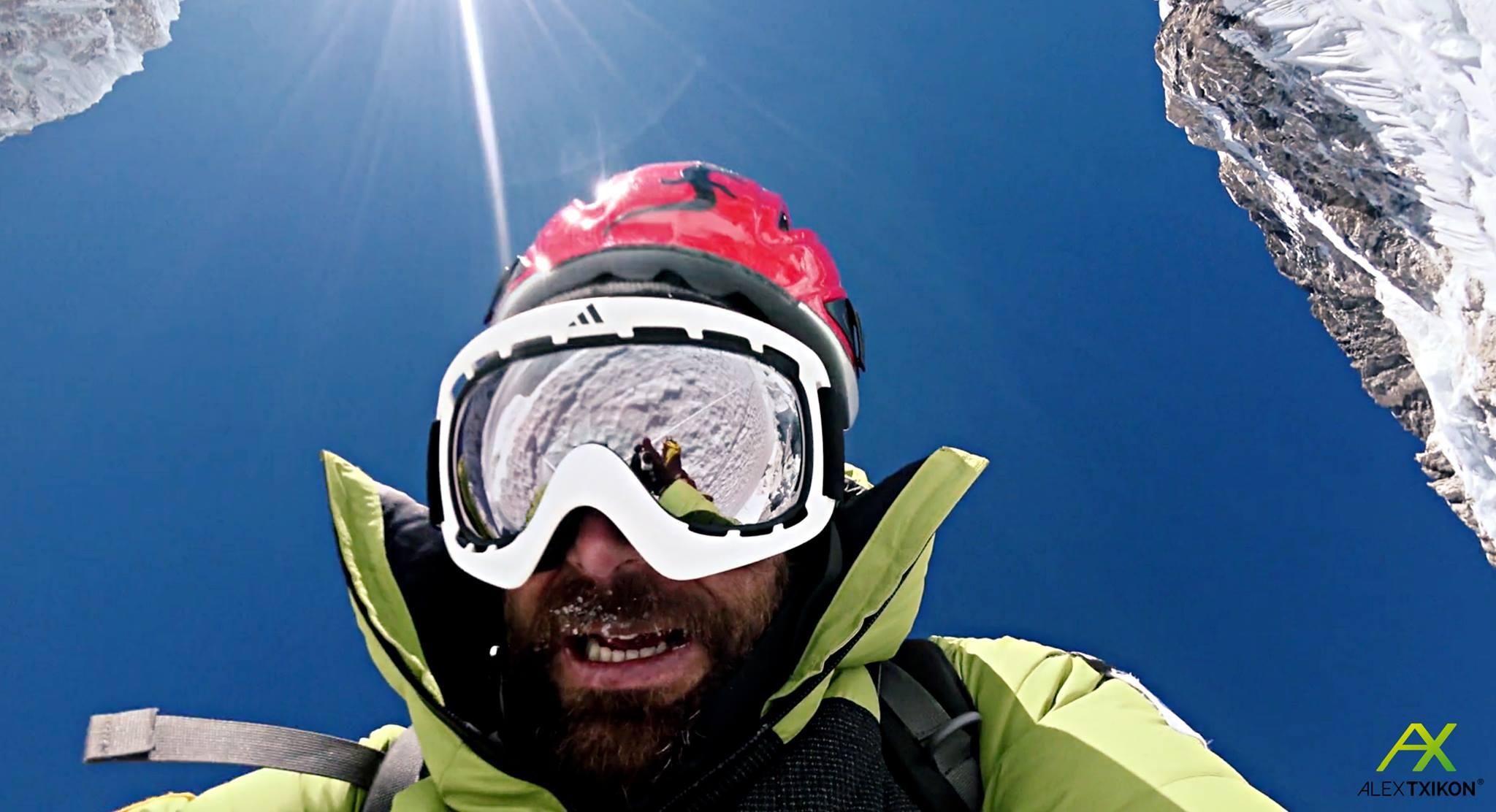 A tél a szenvedésről szól a Himalájában Forrás: Alex Txikon Facebook