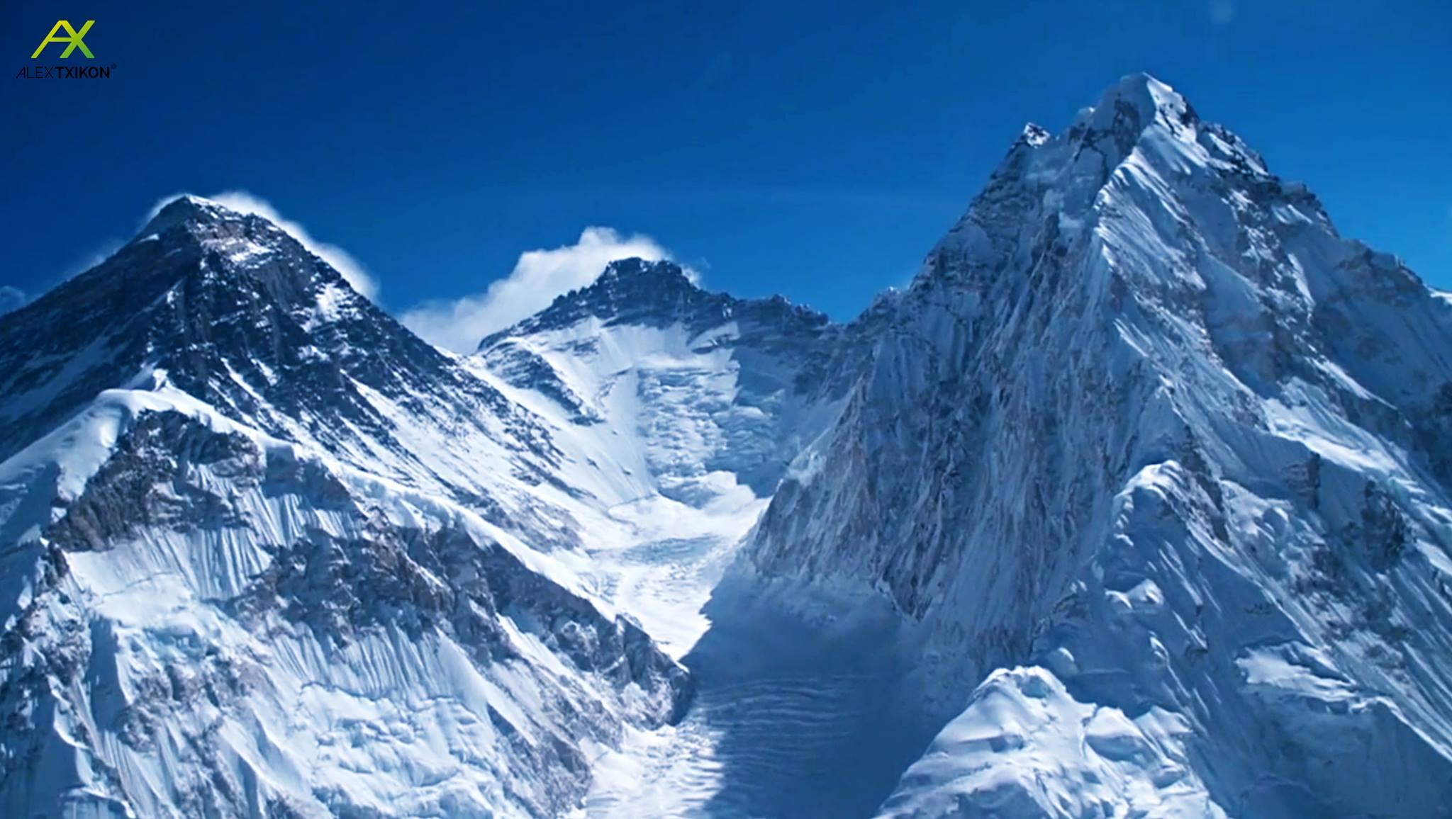 Everest, Lhoce és Nupce Forrás: Alex Txikon Facebook