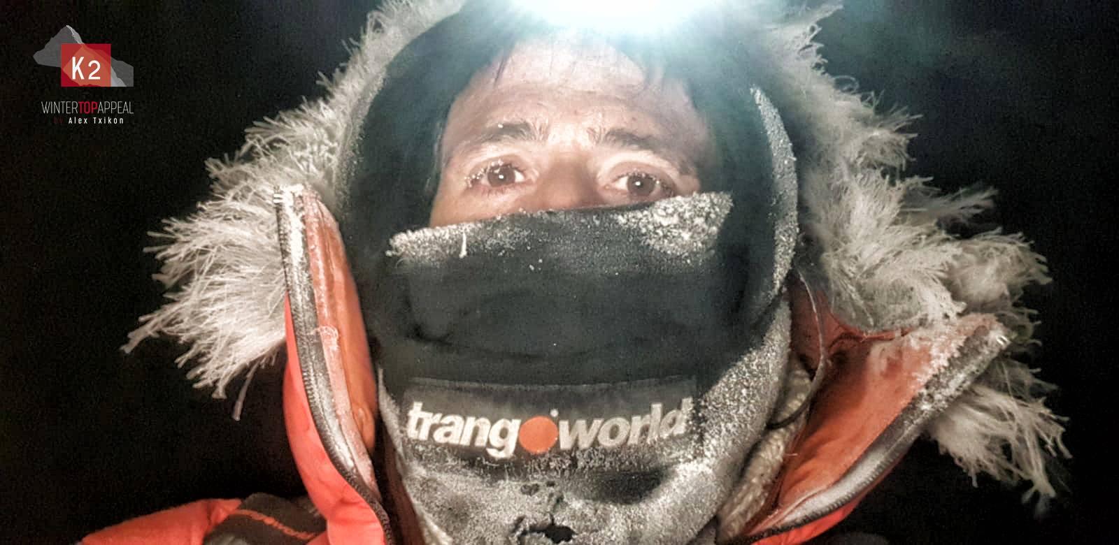 Átlagos téli állapot a K2-n Forrás: Alex Txikón Facebook