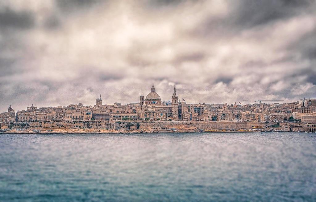 Valletta erődje Forrás: Vas Gergely/Gregory Iron Photography
