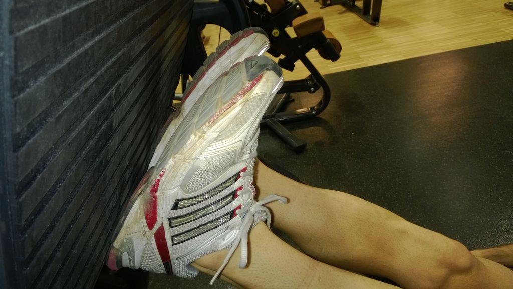 Fekvő lábbal nyomás helyes technika