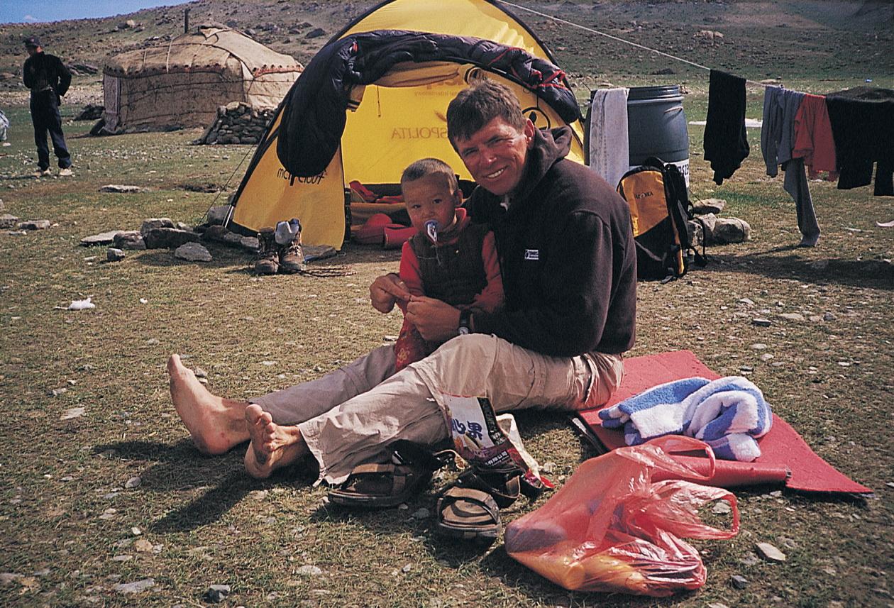 Wetzl Péter az Araráton Forrás: Wetzl Péter